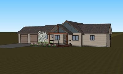 The Calain House plan