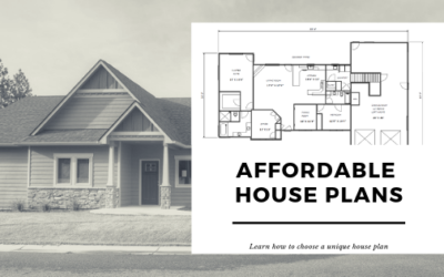 Affordable House Plans Gives You A Fixed Cost For The Construction